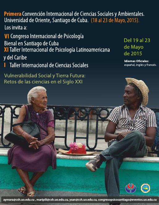 VI Congreso - Bienal en Santiago de Cuba